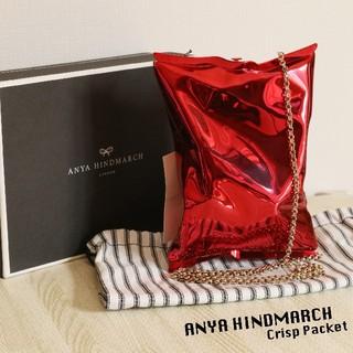 アニヤハインドマーチ(ANYA HINDMARCH)の定価22万円 未使用 ANYA HINDMARCH クリスプパケット(ショルダーバッグ)