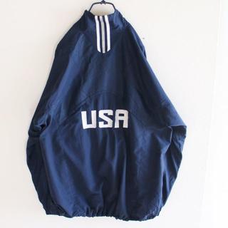 アディダス(adidas)のUS アディダス USA刺繍 撥水 ジャケット L(ナイロンジャケット)