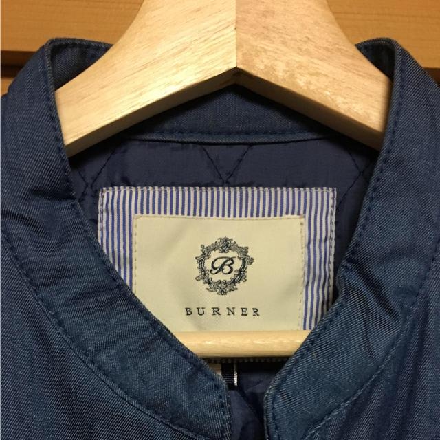 Burner(バーナー)のBURNER ライダースジャケット メンズのジャケット/アウター(ライダースジャケット)の商品写真