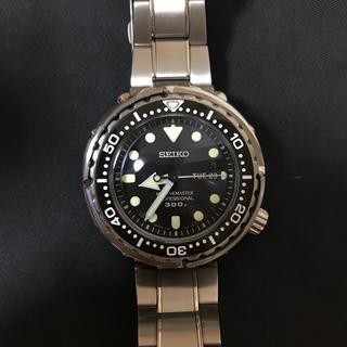 セイコー(SEIKO)のSEIKO マリーンマスター  SBBN031 ツナ缶(腕時計(アナログ))
