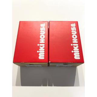 ミキハウス(mikihouse)のミキハウス 靴箱 空箱 シューズボックス 2個セット(その他)