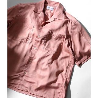 FREAK'S STORE レーヨンオープンカラー SSシャツ
