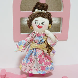 lily doll ドールチャーム (バッグチャーム)