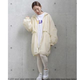 ダブルクローゼット(w closet)のnoraneco☆様専用w closet  ハイネック袖ボリュームギャザーコート(ナイロンジャケット)