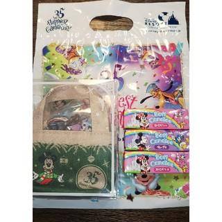 ディズニー(Disney)のディズニー   35周年 チョコレート バック  ソフトキャンディ三個(キャラクターグッズ)