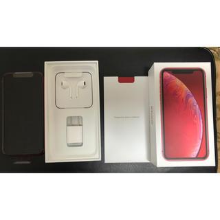 アイフォーン(iPhone)のiPhoneXR  64G  レッド(スマートフォン本体)