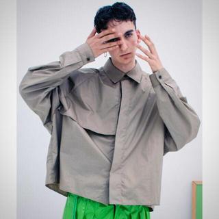 ジエダ(Jieda)のトレンチシャツ サイズ1(シャツ)
