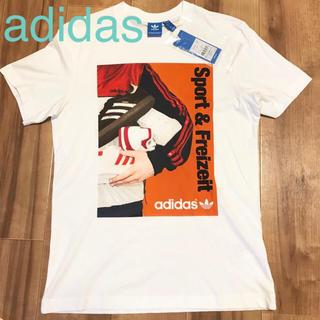 アディダス(adidas)の★新品★アディダスオリジナルス Tシャツ 白 Mサイズ メンズ トレフォイル(Tシャツ/カットソー(半袖/袖なし))