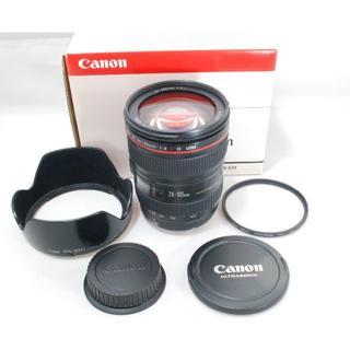Canon - EF24-105mm F4L IS USM 元箱付属一式 おまけ付き
