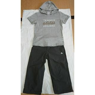 アディダス(adidas)のアディダスの T シャツとハーフパンツ(セット/コーデ)