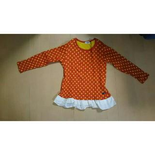 ターカーミニ(t/mini)のt/mini キッズ ニット長袖シャツ(中古品)(Tシャツ/カットソー)