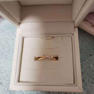 ヨンドシー(4℃)の4℃ 10k 指輪(リング(指輪))