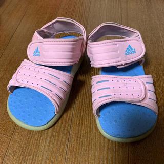 アディダス(adidas)のアディダス サンダル 15cm キッズ (サンダル)