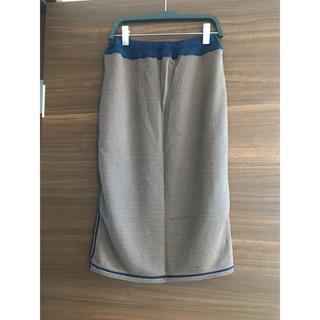バラク(Barak)の◆BALAK◆未使用◆リバーシブル チェック柄スカート(ひざ丈スカート)