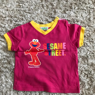 セサミストリート(SESAME STREET)のエルモ☆VネックTシャツ(Tシャツ)