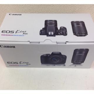キヤノン(Canon)の新品 Canon X9iダブルズーム 2台(デジタル一眼)