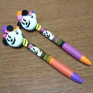 ディズニー(Disney)のボールペン2本(キャラクターグッズ)