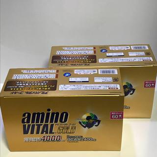 アジノモト(味の素)のアミノバイタル ゴールド 60本入り2セット(トレーニング用品)
