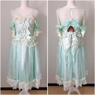 アリスアンドザパイレーツ(ALICE and the PIRATES)のLa belle et la secret de la rose ドレス(ひざ丈ワンピース)