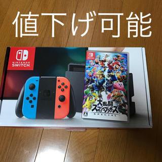 Nintendo Switch - ニンテンドースイッチ&大乱闘スマッシュブラザーズSPECIAL