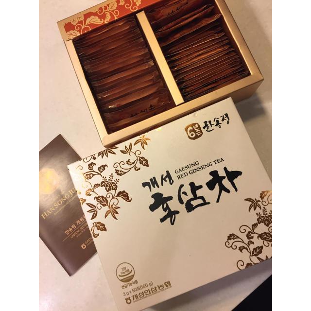 高麗人参茶 48袋 食品/飲料/酒の健康食品(健康茶)の商品写真