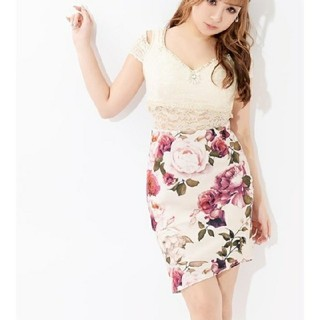 デイジーストア(dazzy store)の❤dazzy store❤大人気!フラワー ドレス(ミニドレス)