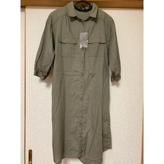 ショコラフィネローブ(chocol raffine robe)の未使用  ショコラフィネローブ  シャツワンピース(シャツ/ブラウス(長袖/七分))