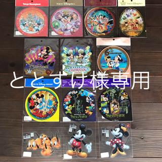 ディズニー(Disney)の東京ディズニーリゾートステッカー13枚セット(キャラクターグッズ)