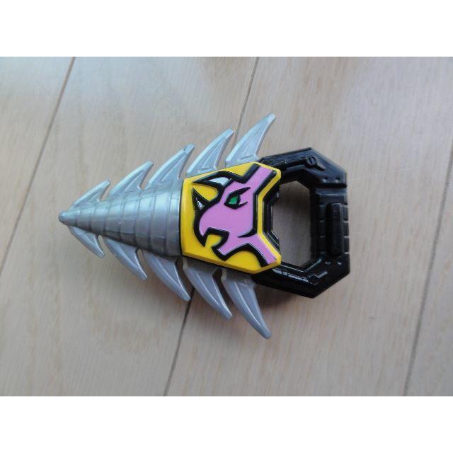 BANDAI(バンダイ)のシールドランスラッシャーセット 獣電戦隊キョウリュウジャー エンタメ/ホビーのおもちゃ/ぬいぐるみ(キャラクターグッズ)の商品写真