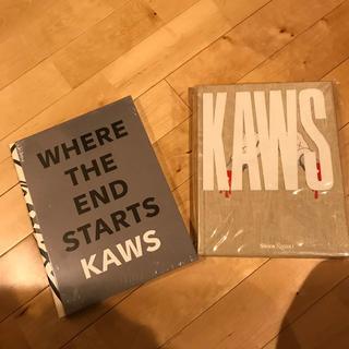 2冊】kaws アートブック(アート/エンタメ)