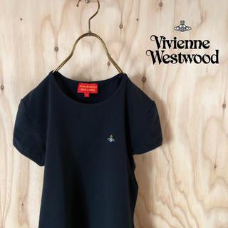 Vivienne Westwood - 【美品】Vivienne Westwood カラーORB刺繍 イタリア製 BK