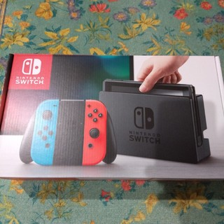 ニンテンドウ(任天堂)のNintendo Switch ニンテンドースイッチ ネオンカラー(家庭用ゲーム本体)
