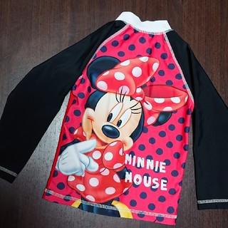 Disney - ミニー ラッシュガード 100㎝ 赤
