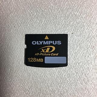オリンパス(OLYMPUS)のOLYMPUS XD ピクチャーカード128MB(その他)
