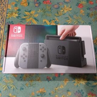 ニンテンドウ(任天堂)のNintendo Switch ニンテンドースイッチ グレーカラー(家庭用ゲーム本体)