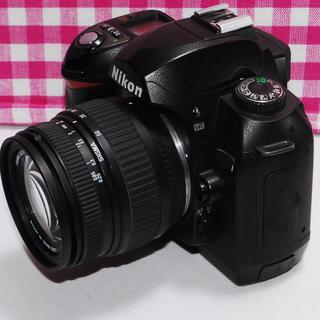 Nikon - ⭐相棒と出掛けよう⭐Nikon D70 レンズキット・極美品・安心保証