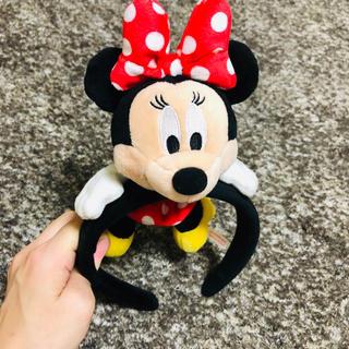 ディズニー(Disney)のぬいぐるみ カチューシャ(カチューシャ)