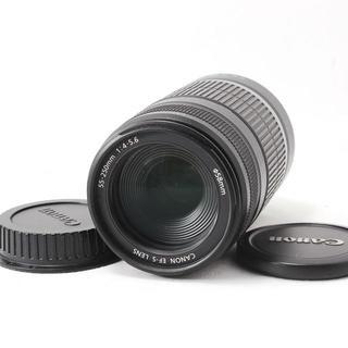 キヤノン(Canon)の❤️キャノン❤️手振れ補正付き望遠❤️EF-S 55-250mm IS(レンズ(ズーム))