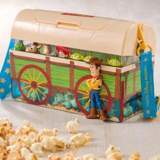 Disney - トイストーリー ポップコーン ケース ウッディ ピクサー ディズニーシー