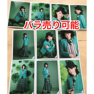 乃木坂46 西野七瀬 生写真 コンプリート 10枚 卒業 グリーン衣装(アイドルグッズ)