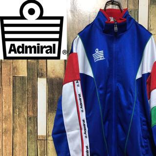 Admiral - 【激レア】アドミラル☆サイドラインテープロゴトリコロールトラックジャケット90s