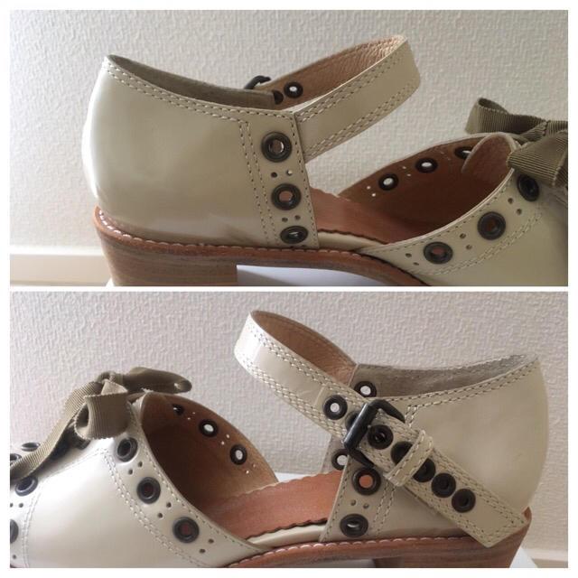 H.P.FRANCE(アッシュペーフランス)の【新品未使用】エバゴスebagosストラップパンプス レディースの靴/シューズ(ハイヒール/パンプス)の商品写真