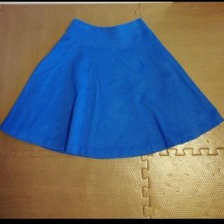 デミルクスビームス(Demi-Luxe BEAMS)のデミルクスビームス スカート 36 日本製 秋冬スカート(ひざ丈スカート)