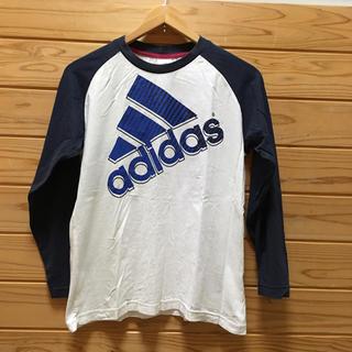 アディダス(adidas)のadidas ロンT 【160】(Tシャツ/カットソー)