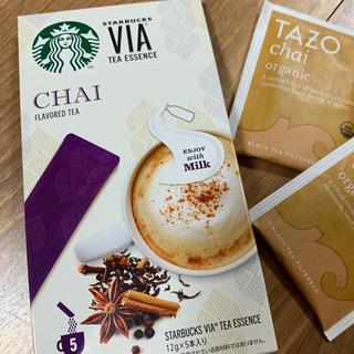 Starbucks Coffee - 新品 スタバ チャイティーラテ