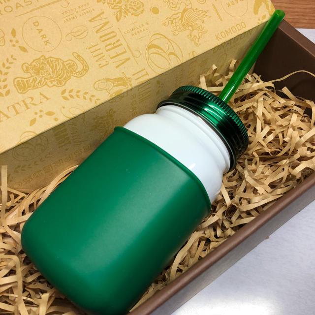 Starbucks Coffee(スターバックスコーヒー)の☆新品☆スターバックス ステンレスジャータンブラー グリーン インテリア/住まい/日用品のキッチン/食器(タンブラー)の商品写真