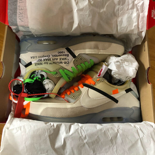 ナイキ(NIKE)の最安値🔥NIKE×Off-WHITE The ten Air Max90(スニーカー)