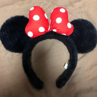 ディズニー(Disney)のミニーちゃんカチューシャ(カチューシャ)