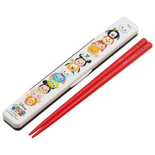 ディズニー(Disney)の新品!箸 箸箱 セット ツムツム(弁当用品)