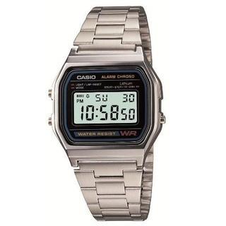 新品未使用★ ステンレスチープカシオA158WA-1JF(腕時計(デジタル))
